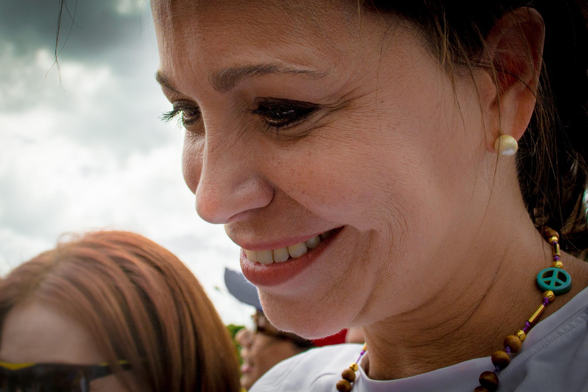 Retratos de Maria Corina Machado en Marcha por Carolina Rivas Malpa